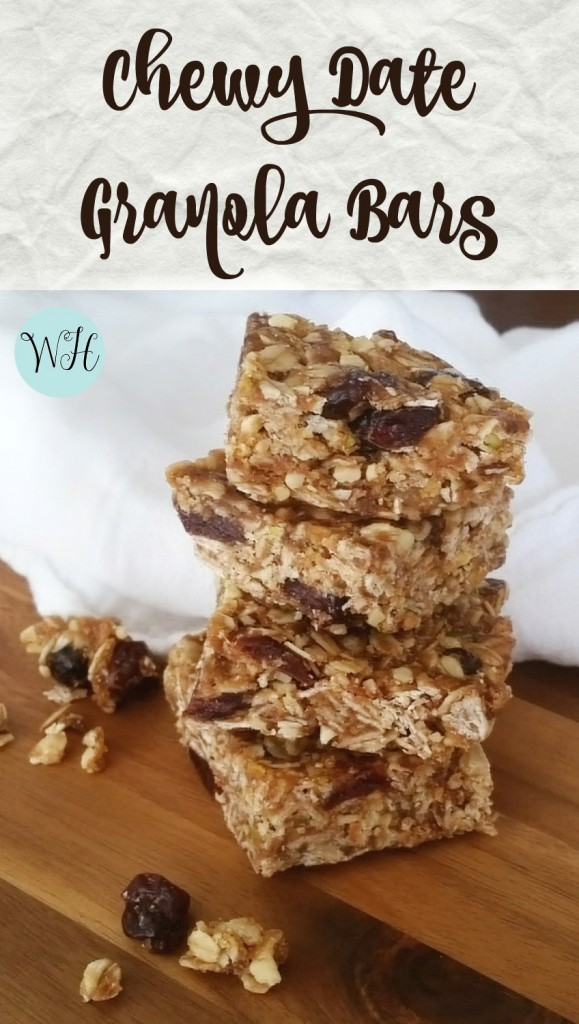 Chewy #Date #Granola Bars