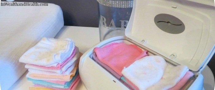 Make own baby wipes