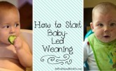 How to Start Baby-led Weaning