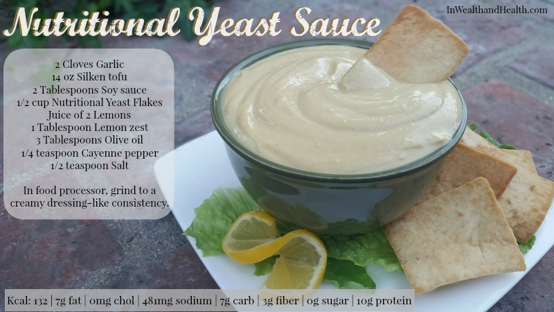 Nutritional yeast sauce