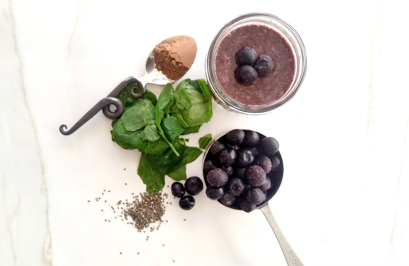Superfood Blueberry Juice | In Wealth and Health