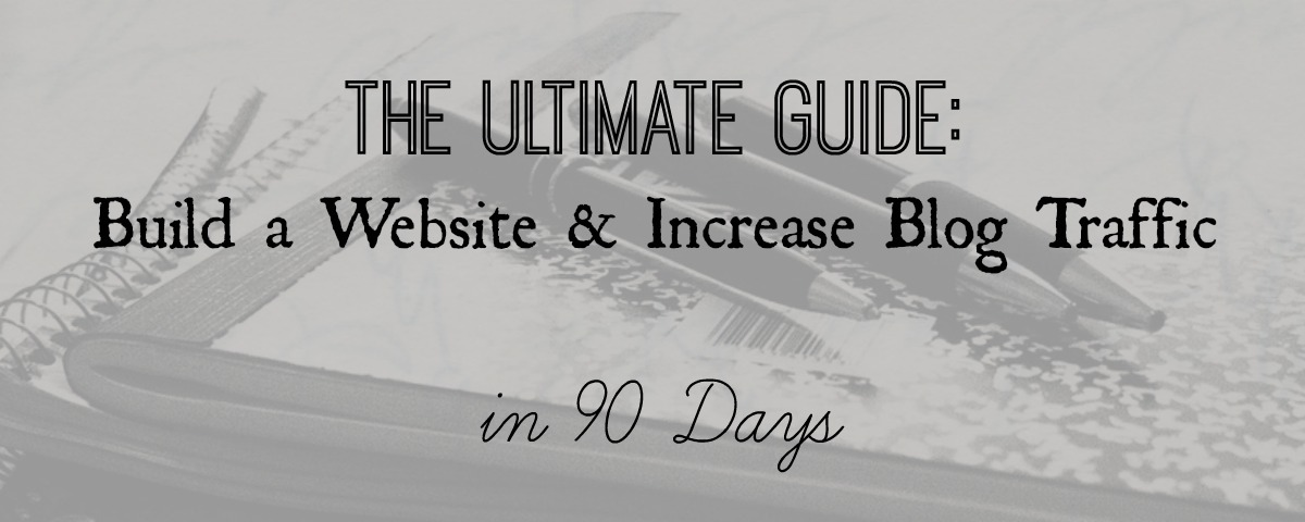 Increase Blog Traffic - Concept to 30K Views in 90 Days - In Wealth and Health