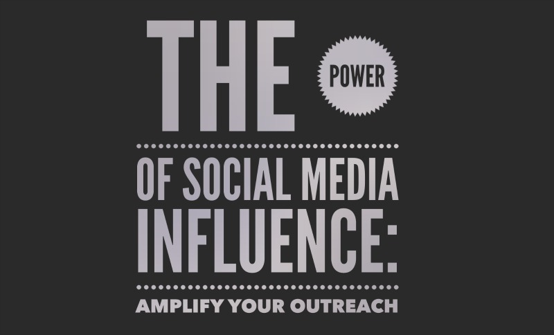 Power of social media influence: amplify your outreach