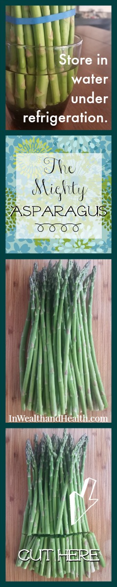 Roast Asparagus | In Wealth and Health