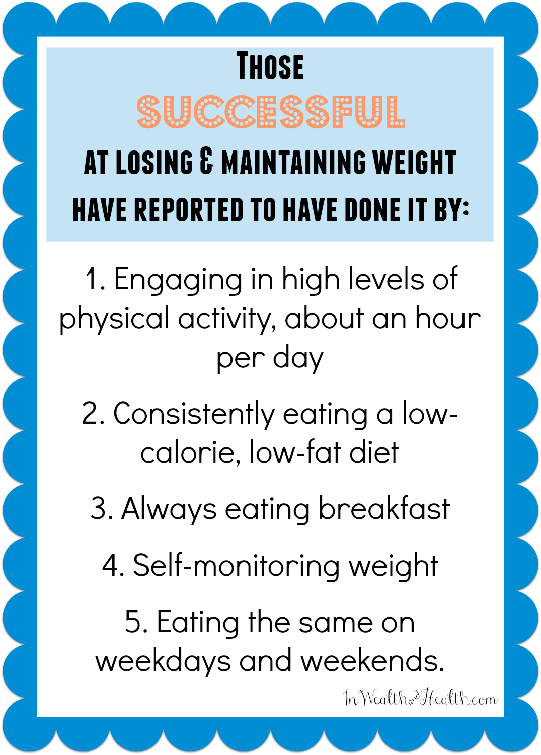 success lose weight