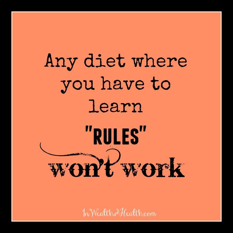 dietsdont work