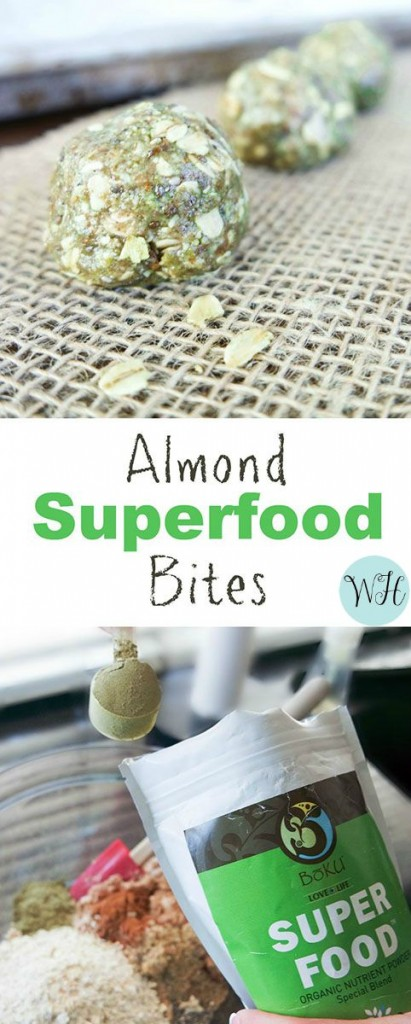 Almond Boku Superfood Bites