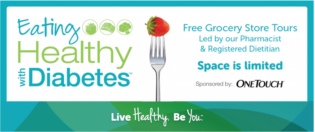 Eating Healthy with Diabetes Nationwide Grocery Store Tours
