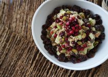 Pistachio & Pomagranate Fall Farro Salad