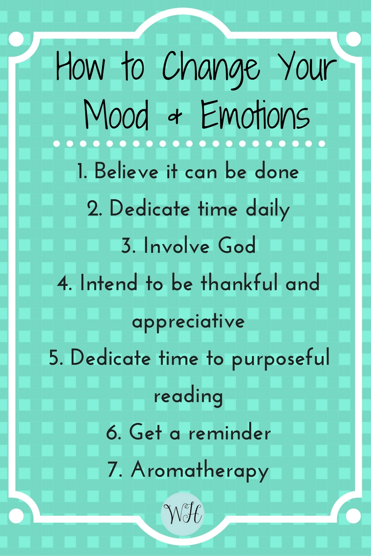 How to Calm Down, Not Get Mad and Change Your Mood & Emotions