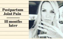 postpartum joint pain 18 months later