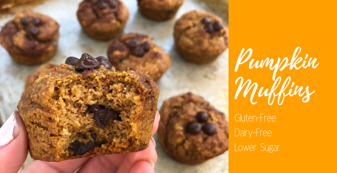 The Best Gluten Free Pumpkin Muffins