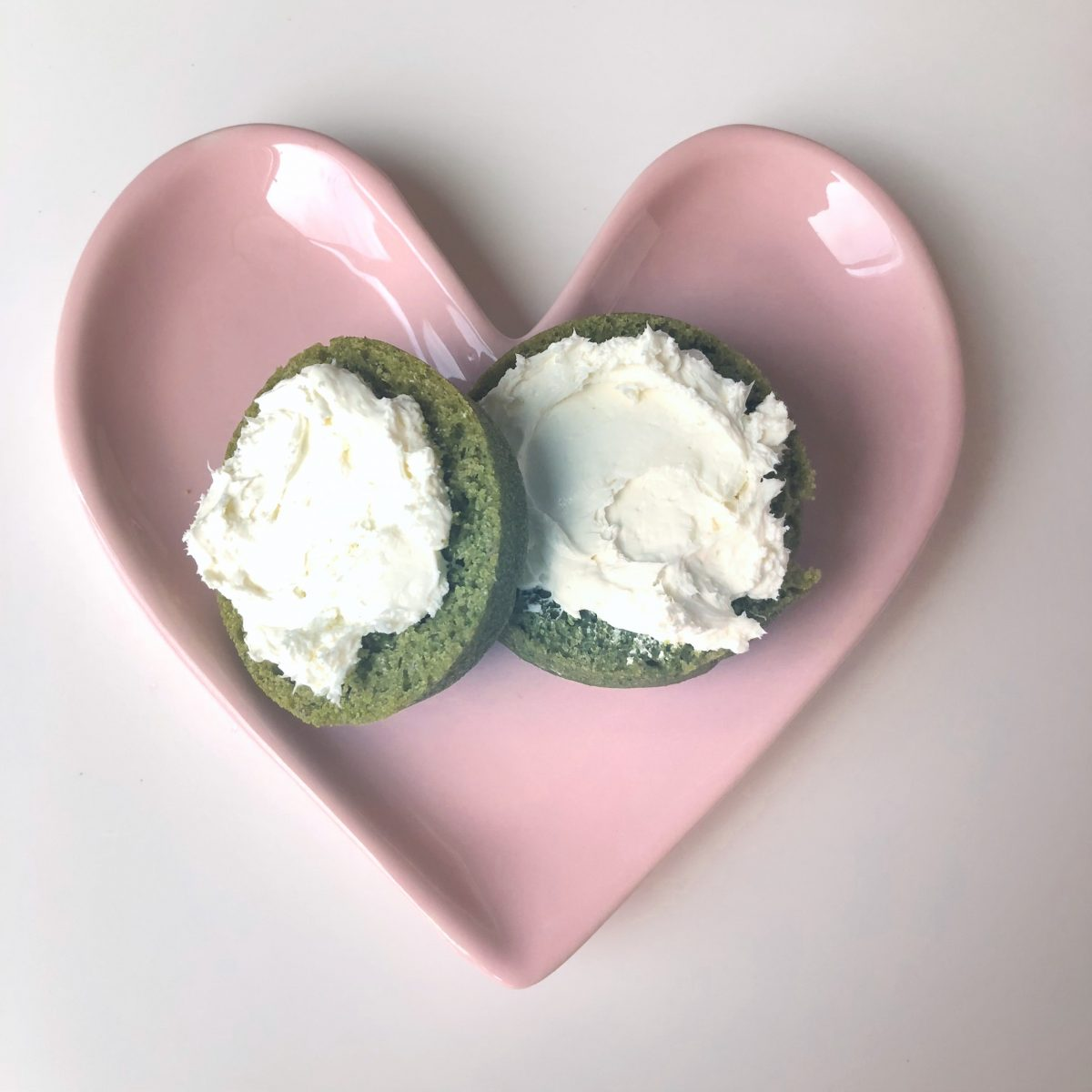 Cream Cheese Green Muffins | In Wealth & Health