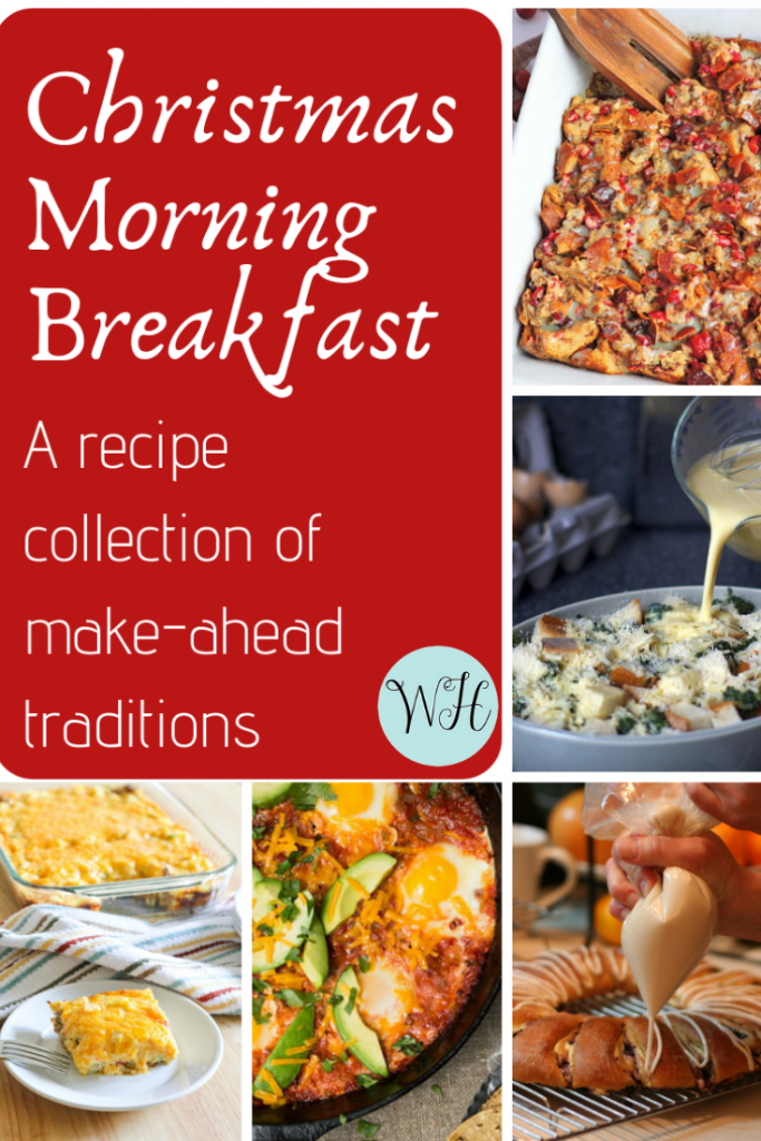 Make-Ahead Christmas Morning Breakfast Traditions: A Recipe