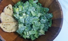 creamy caesar salad recipe | In Wealth and Health
