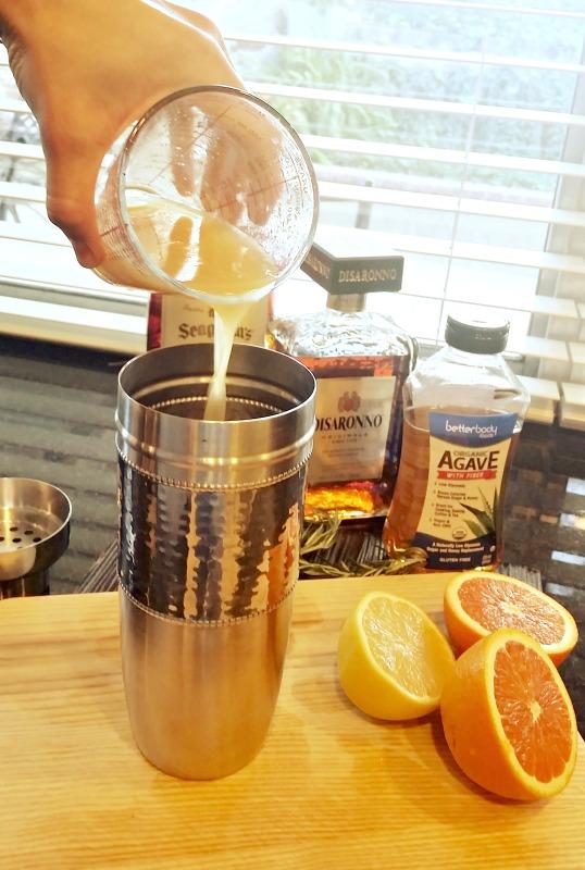 Skinny Citrus Whiskey Sour