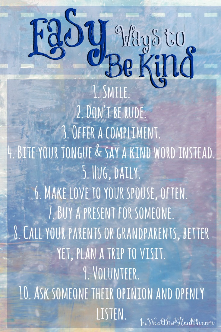Be Inspired to Make the Most out of your Life - #5 Be Kind