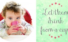 Ditch the Sippy Cup & Bottle: 3 Real Health Reasons to Follow Through