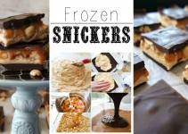 Frozen #Snickers Chocolate Bars