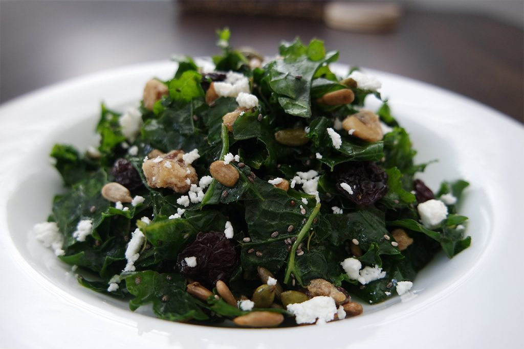The Secret to the Best Kale Salad