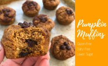 The Best Gluten Free Pumpkin Muffins