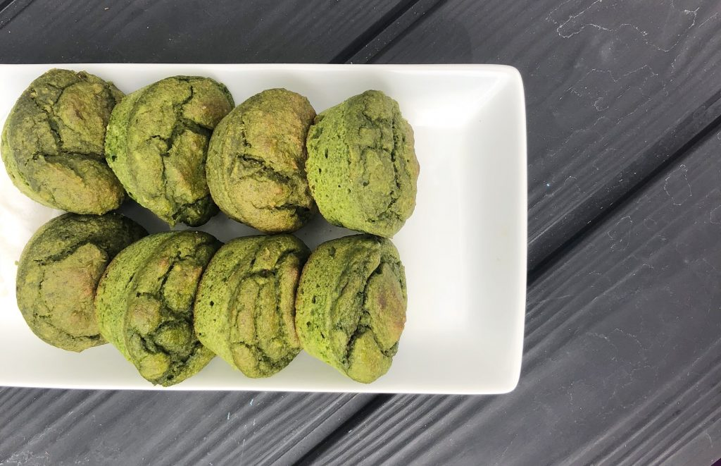 Cream Cheese Green Muffins: Healthy Kid Snacks