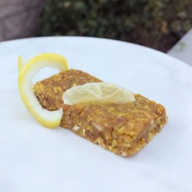 Lemon Turmeric Granola Bars